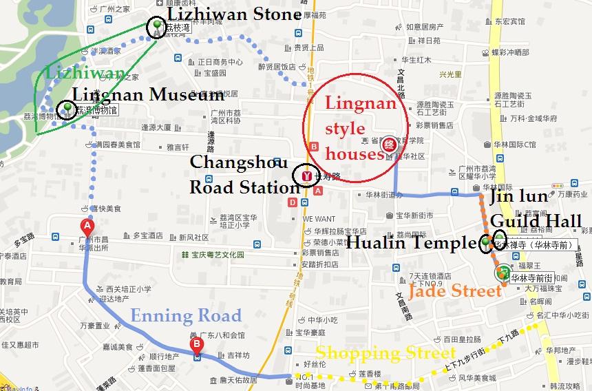 Xiguan Map
