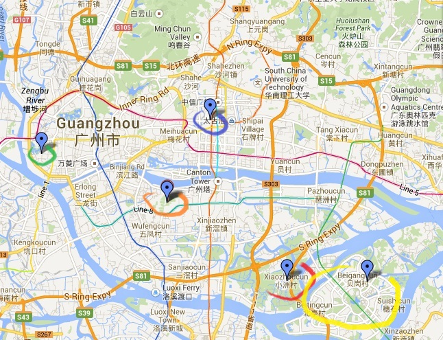 My top 5 favourite places in Guangzhou Living A Dream In China