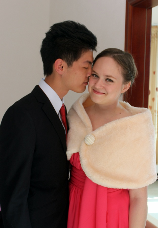 finnish chinese couple