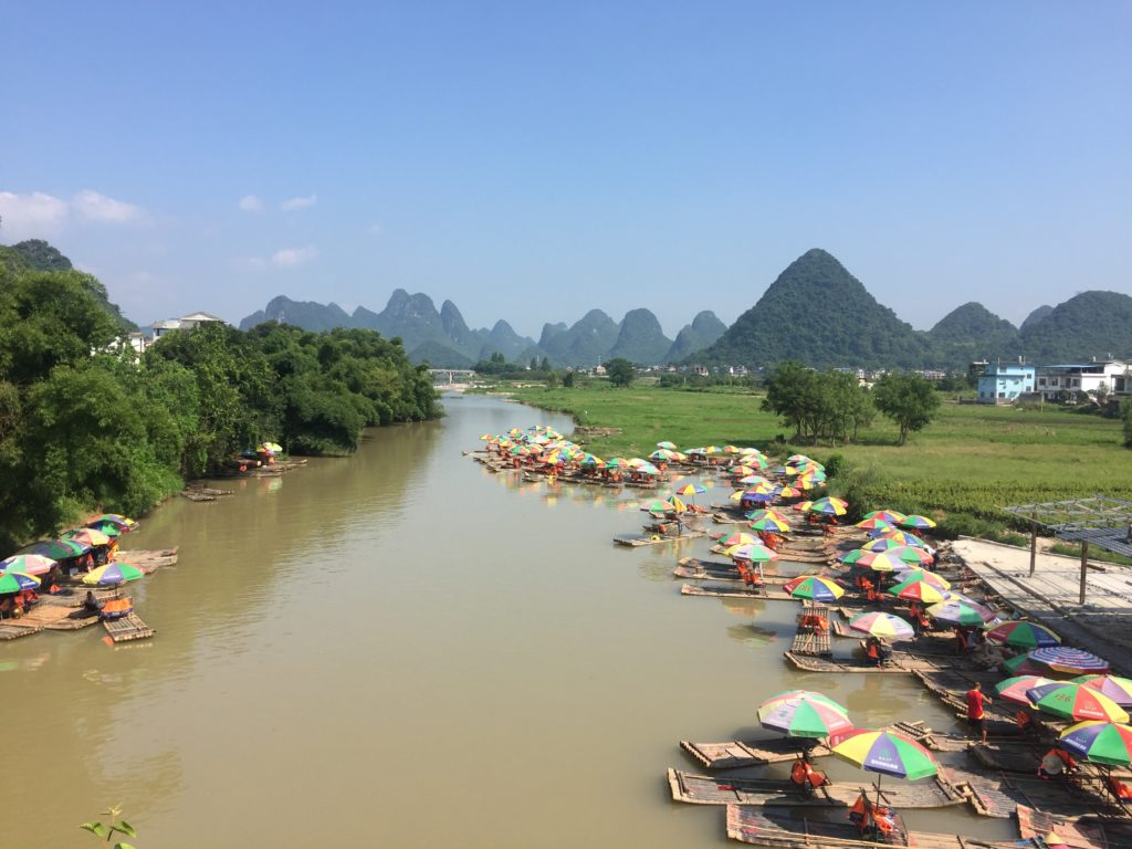 Yangshuo Yulong Bridge